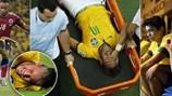 Fan Brazil giận dữ vì Neymar bị đá gãy xương lưng, nghỉ chơi World Cup