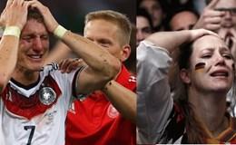 Người Đức bật khóc vì đội nhà vô địch