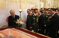 Lãnh đạo Đảng, Nhà nước đến viếng đồng chí Nguyễn Bá Thanh