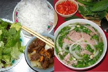 Phở bò, bún chả Hà Nội vào top thức ăn đường phố ngon nhất Châu Á