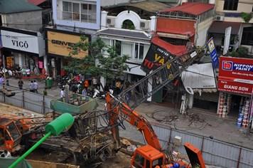 """Các dự án đường sắt đô thị Hà Nội: Thi công theo kiểu """"khủng bố"""""""