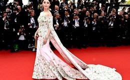 Phạm Băng Băng khoe vai trần đẹp mê hoặc trên thảm đỏ LHP Cannes 2015