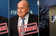 """Blatter và Platini bị cấm hoạt động bóng đá 8 năm: """"Vỡ mộng"""" Chủ tịch FIFA"""