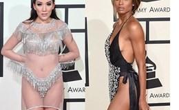 """Những mỹ nhân """"mặc như không"""" trên thảm đỏ Grammy 2016"""
