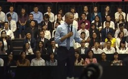 """Những câu nói """"chạm đến trái tim người Việt"""" của Tổng thống Obama"""
