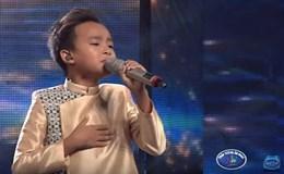 """Cậu bé Hồ Văn Cường lại khiến khán giả """"rụng rời"""" khi ca vọng cổ"""