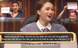 """Ngoài Trung Dân, Hương Giang cũng từng là nạn nhân của gameshow """"nhảm"""""""
