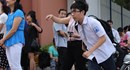 Thi vào lớp 10 tại Hà Nội: Nhiều thí sinh đi muộn, quên giấy tờ