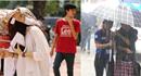 """Thí sinh """"đội nắng"""", """"dầm mưa"""" làm thủ tục dự thi THPT Quốc gia 2017"""