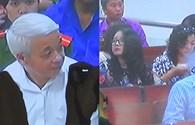 Hình ảnh vợ chồng bầu Kiên bịn rịn tại tòa