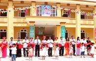 Công đoàn Công nghiệp Hóa chất Việt Nam: Gắn biển công trình Trường Mầm non Xuân Đài