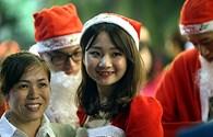 Hà Nội tưng bừng đón đêm Giáng sinh