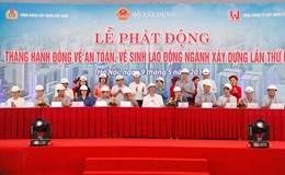 Giao ước thi đua thực hiện công tác an toàn, vệ sinh lao động ngành xây dựng