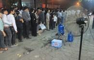 Cảm động hành động đẹp của người dân trong đêm viếng Đại tướng