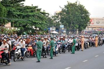 Tai nạn giao thông tăng do phân làn?