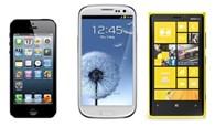 """iPhone 5 """"đọ sức"""" với Galaxy S3, Lumia 920"""