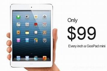 Chưa đầy 1 ngày, iPad mini có phiên bản nhái