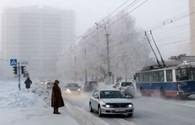 Nhiệt độ xuống đến âm 50 độ C, nước Nga lạnh nhất trong 70 năm