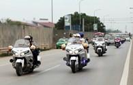 Dàn xe khủng đón Nick Vujicic ở Hà Nội