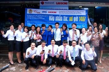 Dòng tin nhắn gắn kết tấm lòng Việt