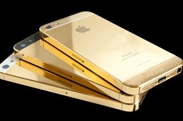 iPhone 5S có thêm màu vàng kim loại và bộ nhớ khủng 128GB