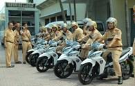 Cận cảnh xe Yamaha thiết kế riêng cho CSGT Việt Nam