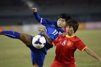 Trực tiếp CK bóng đá nữ: Đáng tiếc, Việt Nam 1-2 Thái Lan