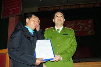 Ông Nguyễn Thanh Chấn chính thức được giải oan