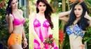 """Chán bãi biển, người đẹp Việt """"đổi gió"""" đua nhau diện bikini trong vườn hoa"""