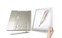 Cận cảnh tablet lai laptop Toshiba mới ra lò mỏng nhẹ hơn cả Surface Pro 4