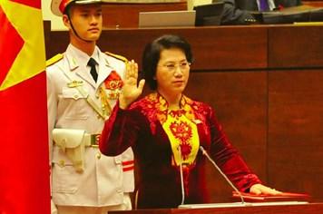 Nữ Chủ tịch Quốc hội đầu tiên