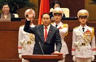 """Chủ tịch Nước Trần Đại Quang: """"Kinh nghiệm của các Chủ tịch Nước tiền nhiệm - vốn quý cho tôi"""""""