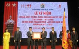 Công đoàn Giao thông Vận tải VN đón nhận Huân chương Lao động hạng Nhì