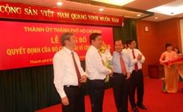Ông Đinh La Thăng giữ chức Bí thư Thành ủy TPHCM, ông Võ Văn Thưởng giữ chức Trưởng Ban Tuyên giáo Trung ương