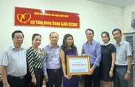 Công Đoàn Công Thương Việt Nam ủng hộ 200 triệu đồng đến đồng bào Miền Trung bị bão lũ