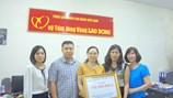 Công đoàn Y tế Việt Nam ủng hộ 150 triệu đồng giúp đỡ đồng bào miền Trung bị lũ lụt