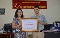 Cơ quan Tổng Công ty CP Xây dựng Công nghiệp Việt Nam ủng hộ hơn 24 triệu đồng đến đồng bào miền Trung