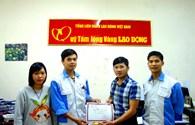 Công đoàn Doanh nghiệp chế xuất NITORI Việt Nam chia sẻ đến bà con miền Trung