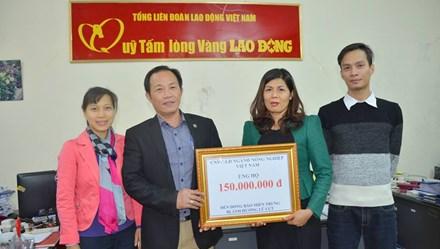 Thêm 150 triệu đến với đồng bào miền Trung từ