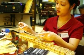 Giá vàng quay đầu tăng trên 100.000 đồng/lượng
