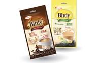 Ajinomoto tung cà phê và trà sữa hòa tan Birdy 3in1