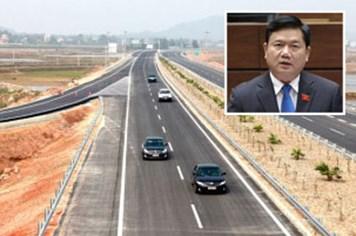 """Bộ trưởng Đinh La Thăng: """"Đã có người sáng tác bài hát về đường cao tốc tặng tôi!"""""""