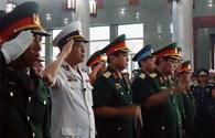 Nghẹn ngào nước mắt viếng, tiễn 4 chiến sĩ không quân hy sinh