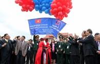 """Chính thức triển khai """"một cửa, một lần dừng"""" tại cửa khẩu quốc tế Lao Bảo-Đensavan"""