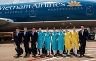 Ngày 8.3, bộ đồng  phục chính thức của tiếp viên Vietnam Airlines được công bố