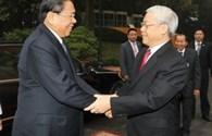 Điện mừng kỷ niệm 60 năm Ngày thành lập Đảng Nhân dân cách mạng Lào