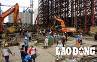 Sập giàn giáo tại khu kinh tế Vũng Áng do sự cố má phanh hệ thống thủy lực