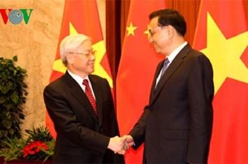 Tổng Bí thư Nguyễn Phú Trọng hội kiến các nhà lãnh đạo Trung Quốc:  Thúc đẩy hợp tác thực chất trên tất cả các lĩnh vực