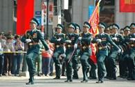 Chùm ảnh: Diễu binh kỷ niệm 40 năm thống nhất đất nước