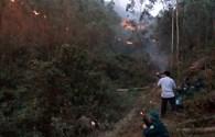 Thanh Hoá: Rừng vẫn cháy dữ dội, 150ha thông, keo thành tro